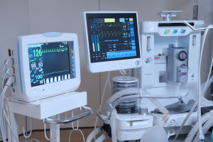 medical devices with monitors